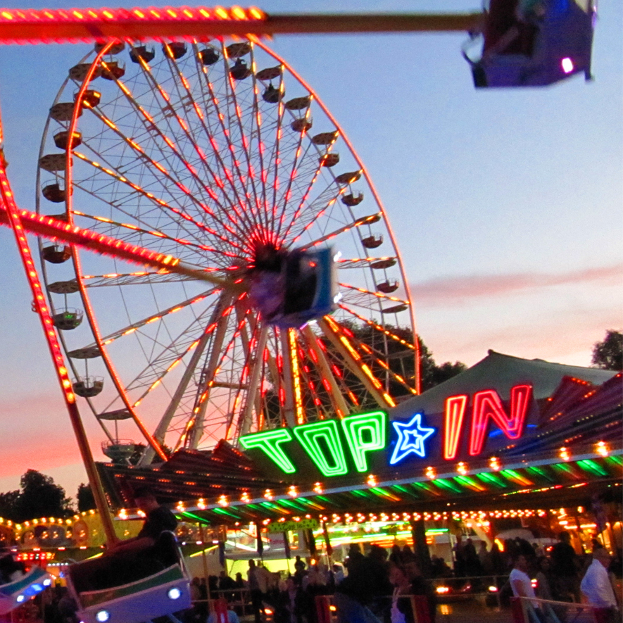 Ulmer Volksfest, Riesenrad, Top In