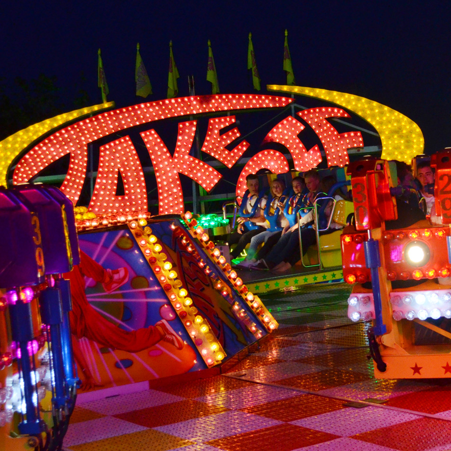 Ulmer Volksfest, Take Off
